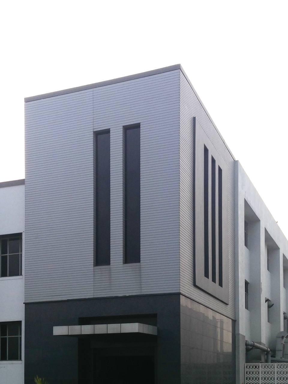 Facade- Aluminium cladding - Kundli sonipat (4)